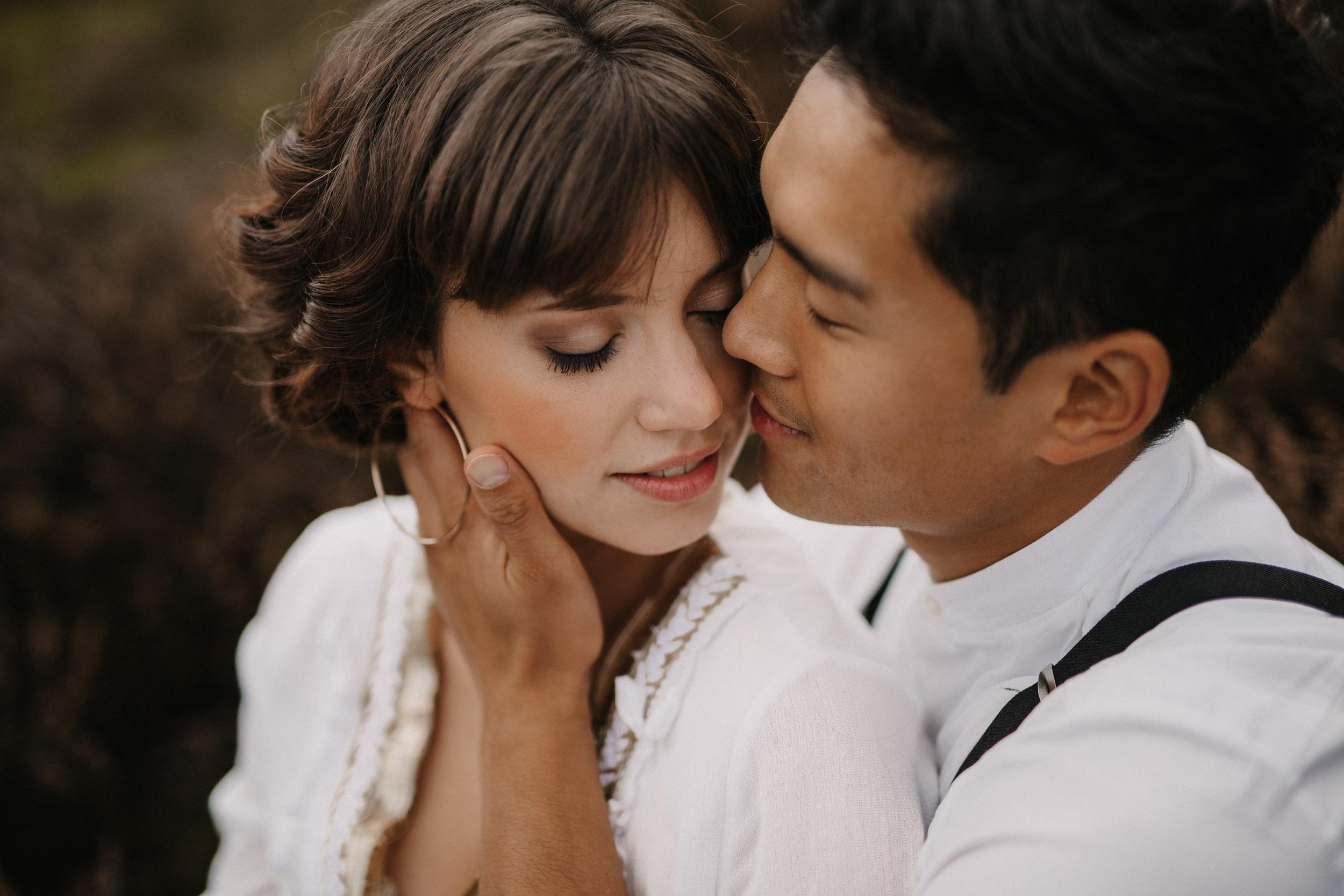 Hochzeitsfotos Bonn Brautpaar Heide